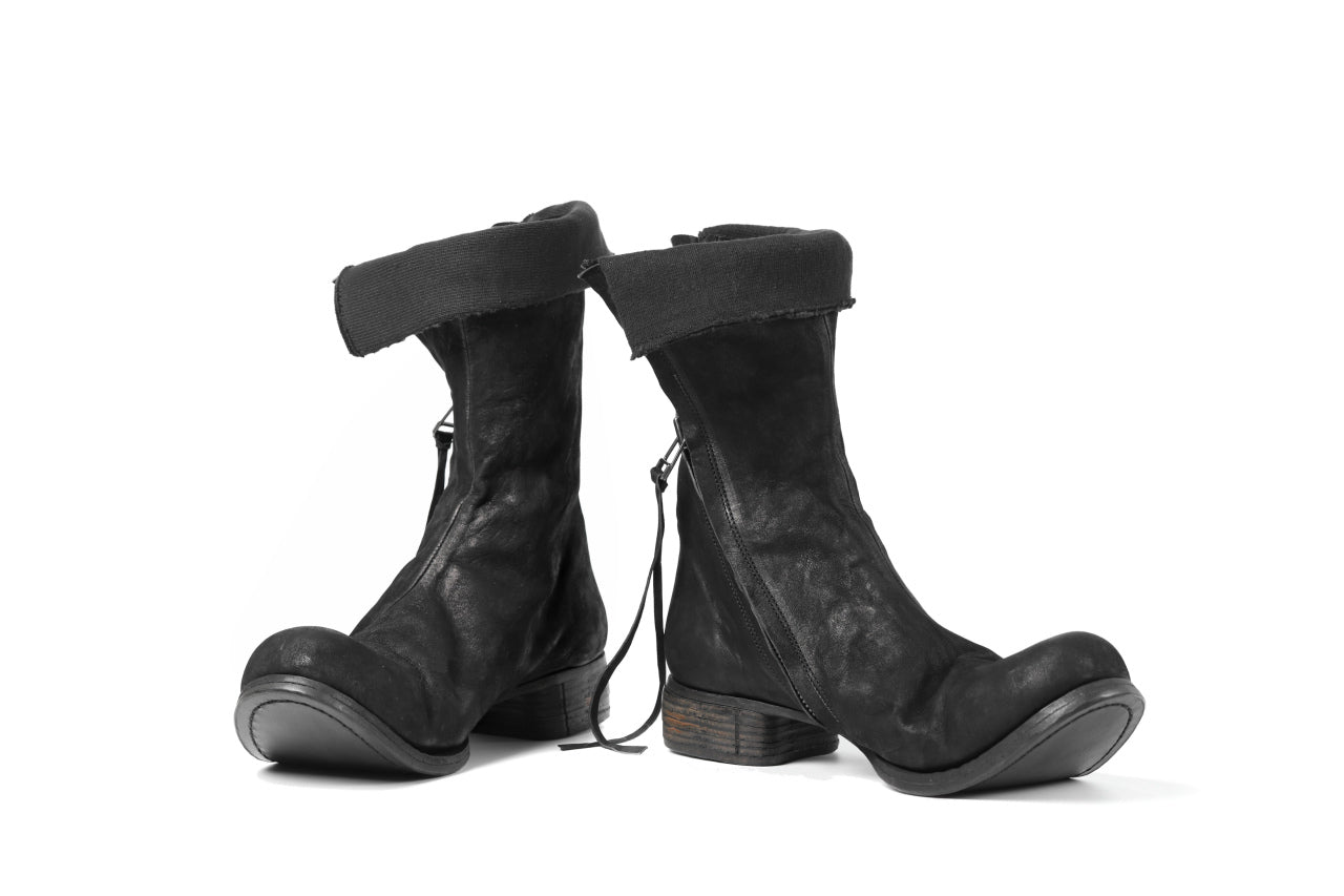 Portaille exclusive PL20 Layered Zip Boots (BANDOLERO / BLACK)