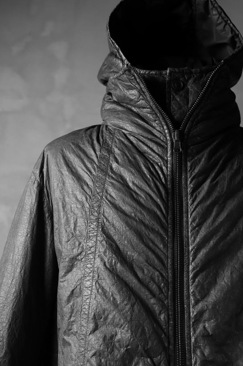 masnada REVERSIBLE PUFFER PADDED MODS COAT / WATER RESISTENT (BLACK)