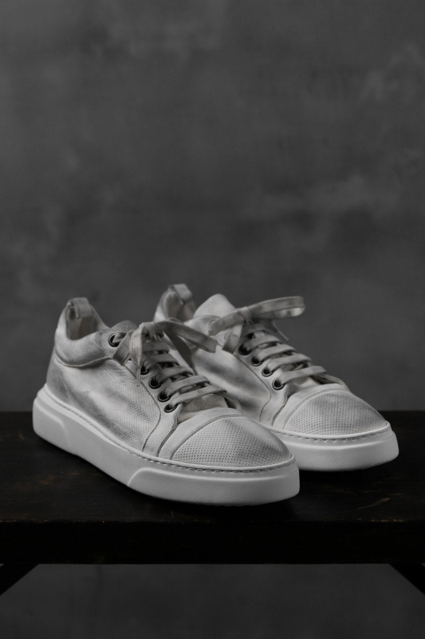 masnada SNEAKERS LOW / PELLE BUFALO (DIRTY WHITE)