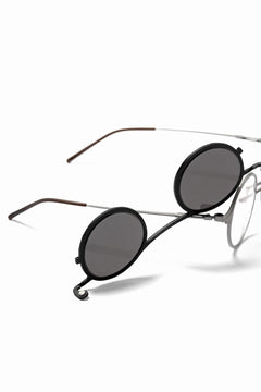 画像をギャラリービューアに読み込む, RIGARDS × The Viridi-anne Lens-Detachable Glasses (BLACK×SILVER)