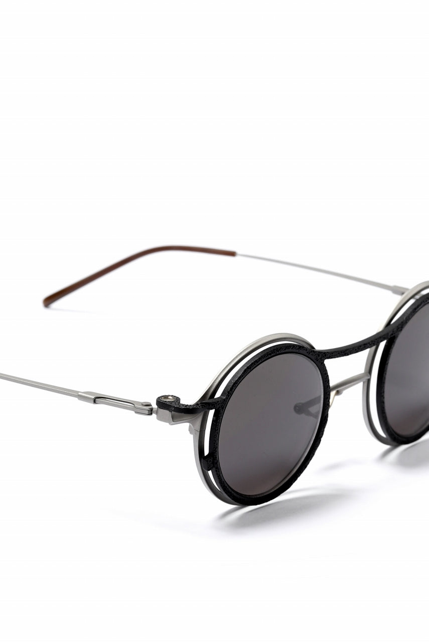 RIGARDS × The Viridi-anne Lens-Detachable Glasses (BLACK×SILVER)