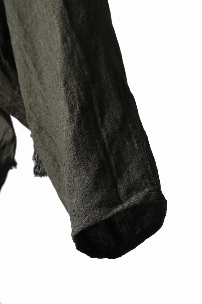 _vital exclusive low crotch tapered pants / organic linen