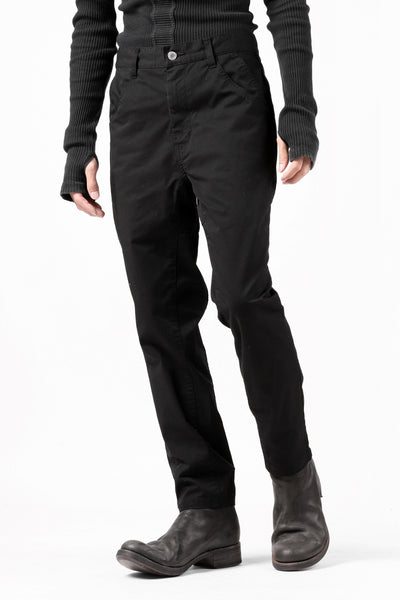 Zero Water-repellent 8-Pocket Active Stretch Pants (BLACK)