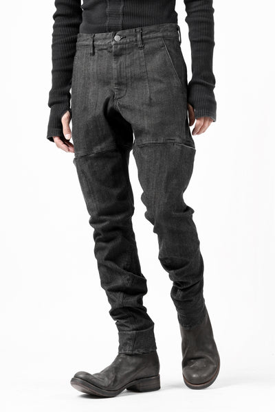 Zero Water-repellent Super Stretch 6-Pocket Denim Pants (BLACK)