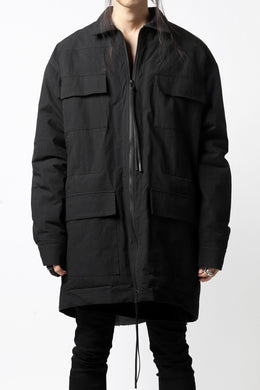 A.F ARTEFACT MILITARY SWING TOP BLOUSON / WATER REPELLENT+BOA LINER (BLACK)