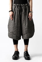 Load image into Gallery viewer, un-namable exclusive Tulip Wide Short Pants (Sarti Stripe)