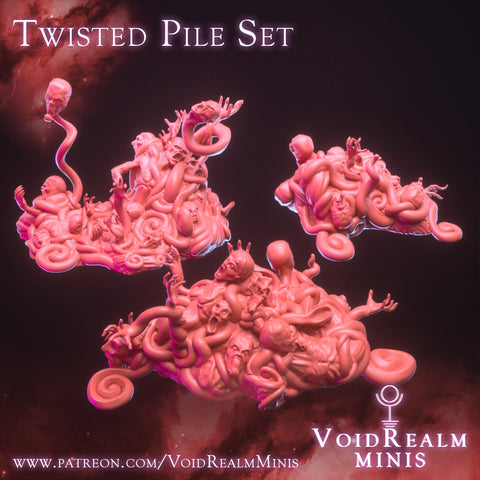 Twisted Piles Set