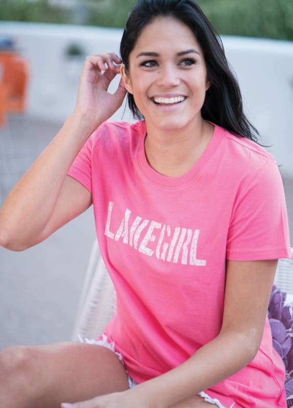 Lakegirl Simply Lakegirl Tee Shirt - Graphic Tees