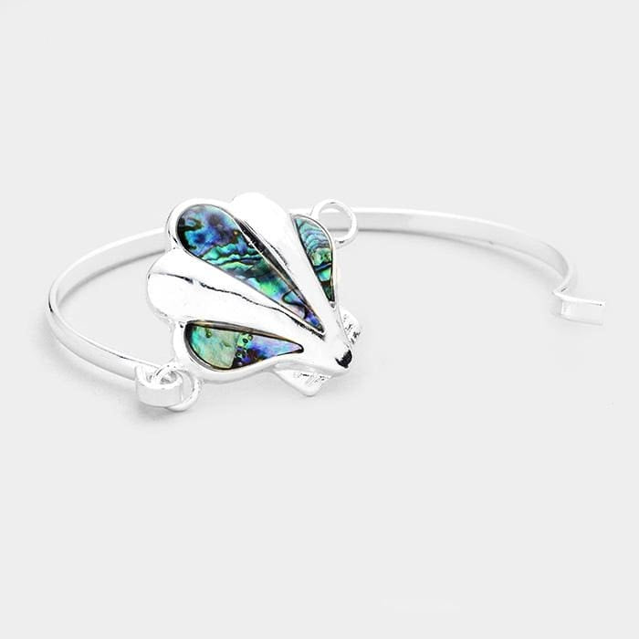 Abalone Shell Hook Bracelet - Jewelry