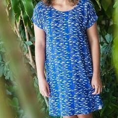 Aquarium Beach Dress - Xs / French Blue - Apparel