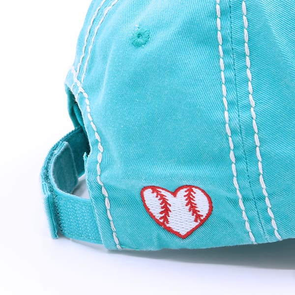 Baseball Heart Hat - Hats