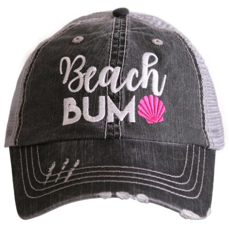 Beach Bum Shell Hat - Hot Pink - Hats