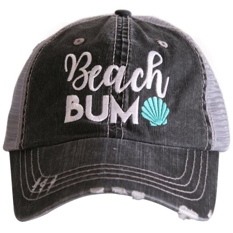 Beach Bum Shell Hat - Teal - Hats