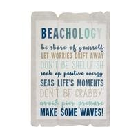 Beachology Wood Sign - Wood Signs