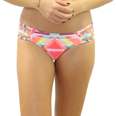 Cherokee Strappy Side Bottom - S / Cherokee - Swimwear
