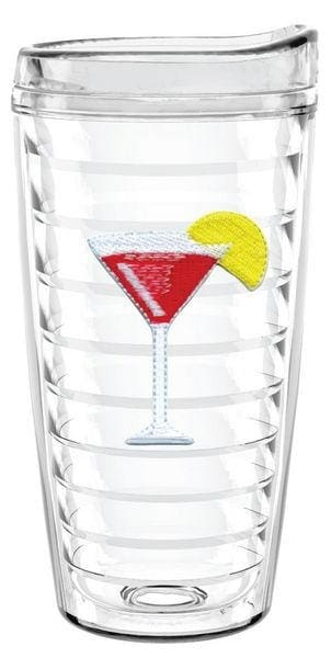 Cosmopolitan 16Oz Tumbler With Lid - Barware