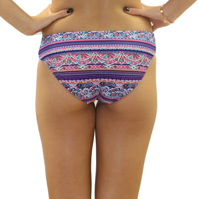 Delilah Three String Braided Bottom - Swimwear