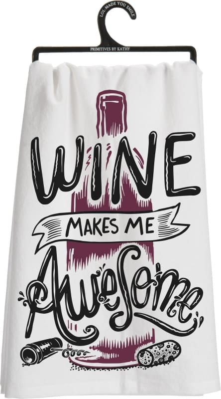 Dish Towel - Wine Awesome - Home Décor