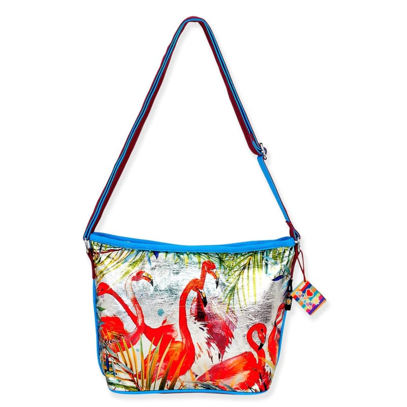 Flamingo Fun Crossbody - Default - Hand Bags