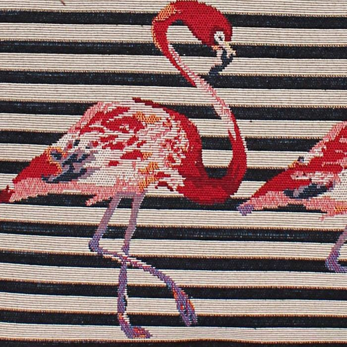 Flamingo Print Tote Bag - Hand Bags