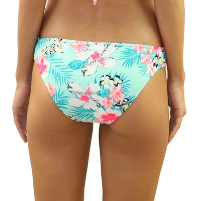 Floral Daze Strappy Side Bottom - Swimwear