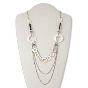 Freshwater Pearl Shell Necklace - Jewelry