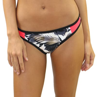 Havana Nights Dual Stripe Side Bottoms - S / Havana Nights - Swimwear