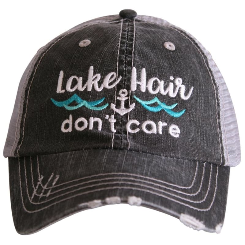Lake Hair Dont Care Waves Hat - Teal - Hats