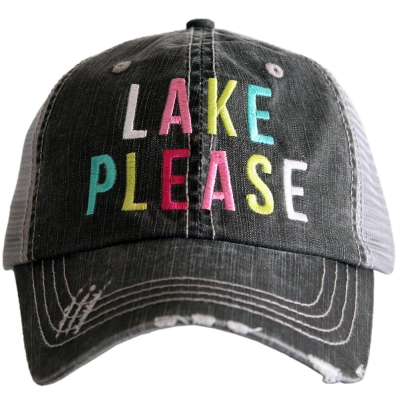 Lake Please Multicolored Hat - Lake Please Multicolored Hat - Hats