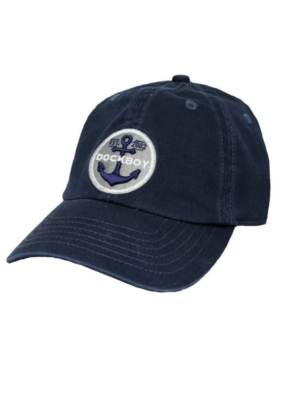 Lakegirl Dock Boy Mens Cap - Navy - Hats