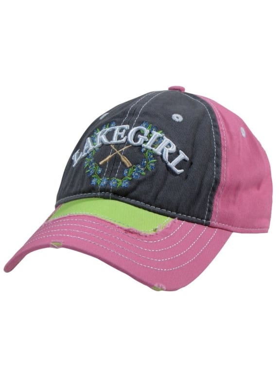 Lakegirl Forget-Me-Not Cap - Piinl/lime - Hats