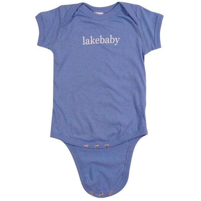 Lakegirl Lakebaby Onesie - Carolina Blue / 6 Months - Apparel