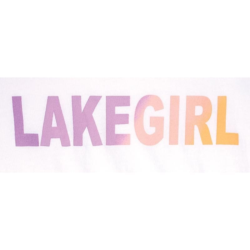 Lakegirl Relaxed Spectrum Crew Tee Shirt - Apparel