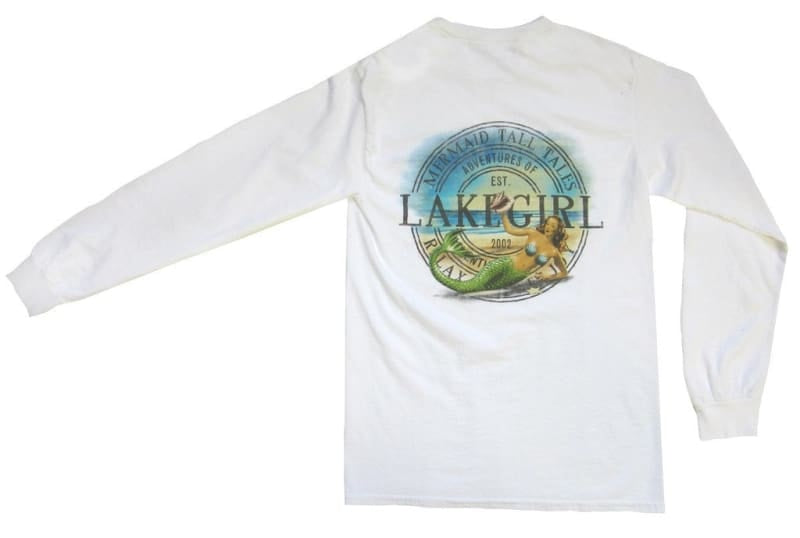 Lakegirl Tall Tales Mermaid Long Sleeve Tee - Apparel