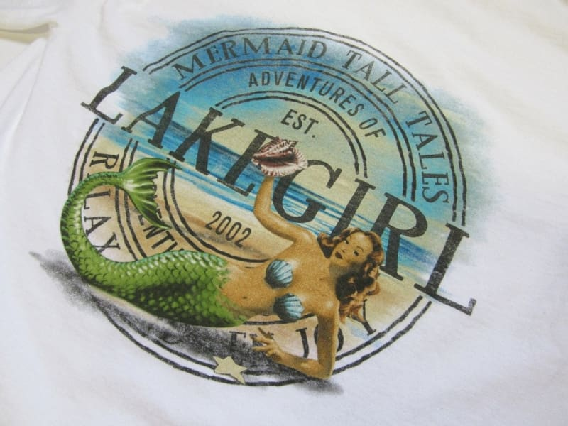 Lakegirl Tall Tales Mermaid Long Sleeve Tee - Small - Apparel
