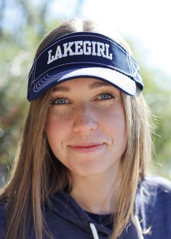 Lakegirl Visors - Apparel