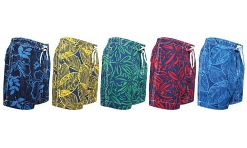 Little Boys & Toddler Boys Swim Trunks By Trunks - Swimwear