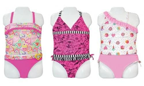 Little Girls Swimsuit Tankini By Angel Beach - Swimwear