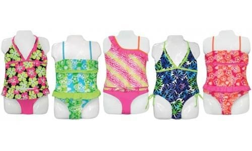 Little Girls Tankini Swimsuit - Swimwear
