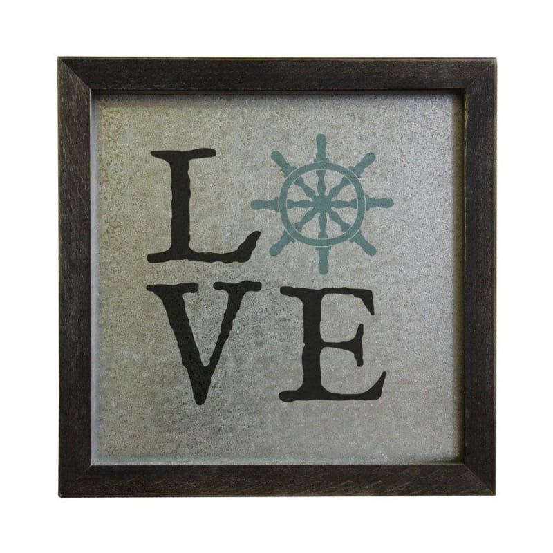 Love Wood Sign - 10X10X1.5 - Wood Signs
