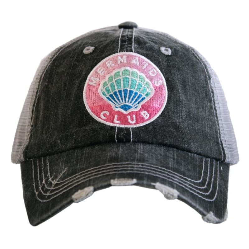 Mermaids Club Hat - Gray - Hats