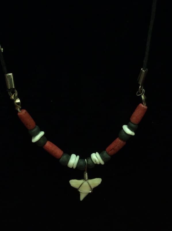 Mini Shark Tooth Necklace - Jewelry