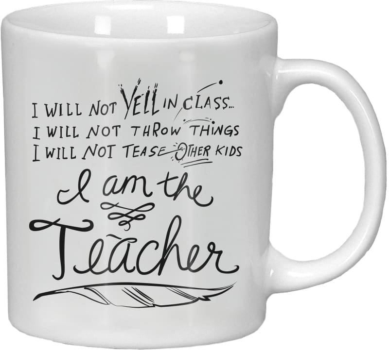 Mug - I Am The Teacher - Coffee