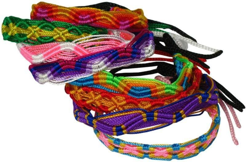 Peruvian Braided Friendship Bracelet - Jewelry