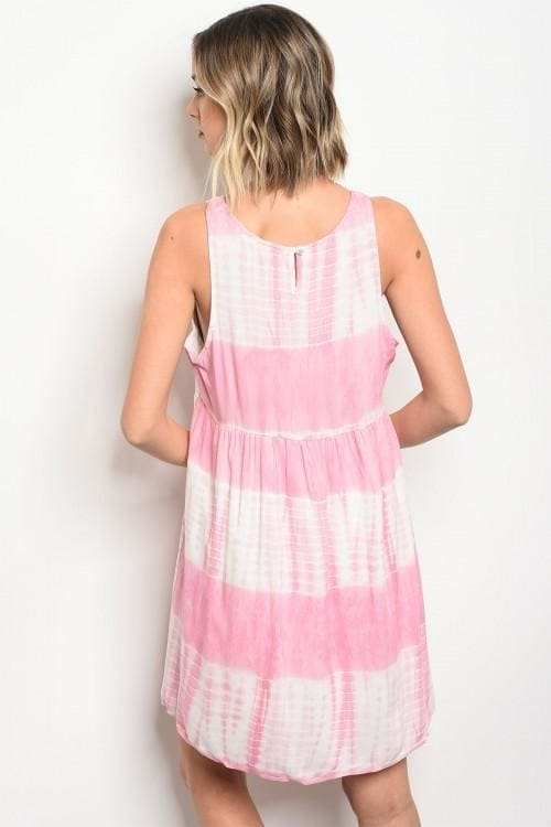 Pink Ivory Dress - Apparel