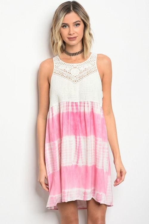 Pink Ivory Dress - Small - Apparel