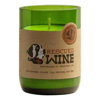 Rescued Wine - Cabernet Soy Candle - Candle