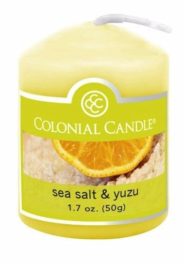 Sea Salt & Yuza Votive - Candle