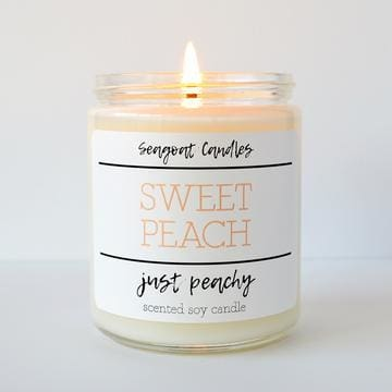 Seagoat Candles - Sweet Peach - Just Peachy