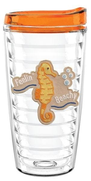 Seahorse- Feelin Beachy 16Oz - Barware